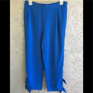 August silk casual pant